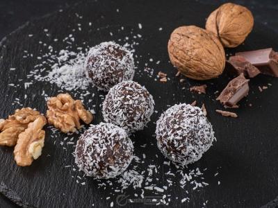 Шоколадные шарики