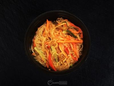 Фунчоза с овощами /Шрирача/