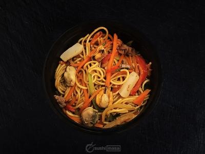 Яичная с морепродуктами /Терияки/